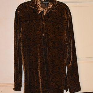 Soft Beige Collared Shirt